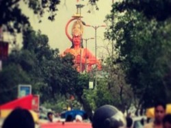 Can Hanuman Statue Be Airlifted Fix Traffic Issue Asks Delhi High Court