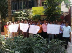 Approx Seven Thousand Contractual Employees Hscl Has Called Non Cooperation Movement