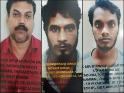 Stf Arrest Three Al Quada Terrorist From Kolkata Station