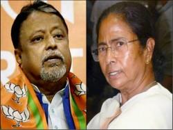 Mukul Roy Makes Fresh Attack On Mamata Banerjee Abhishek Banerjee Over Biswa Bangla Controversy