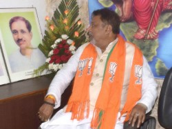 Mukul Roy Gets Separate Chamber The Bjp State Office