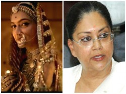 Don T Release Padmavati Without Changes Tells Vasundhara Raje
