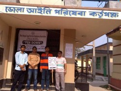 Contractual Employees West Bengal Leagal Services Authority Has Called Pen Down