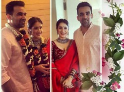 Sagarika Ghatge Ties The Knot With Zaheer Khan
