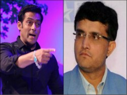 Salman Khan Be With Sourav Ganguly Tv Programme