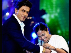 Shah Rukh Khan Gets Lift From Mamata Banerjee Her Small Car