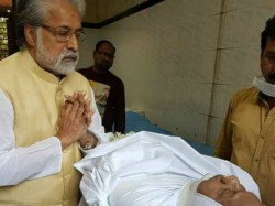 Sudip Bandyopadhyay S Condolences On The Deadbody Priyaranjan Dasmunsi
