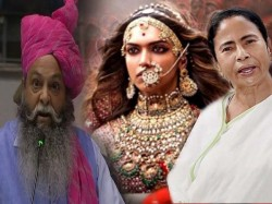 Bjp Leader Suraj Pal Amu Threats Mamata Banerjee Cutting Off Nose Padmavati