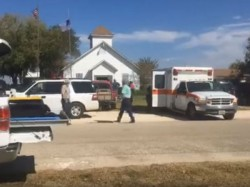 About 26 People Dead As Gunman Opens Fire At Texus Church