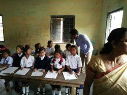 Students Madhya Pradesh School Asked Answer Roll Call With Jai Hind