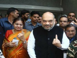 Amit Shah Was Once Booth Manager Area Where He Voted Today As Bjp Boss