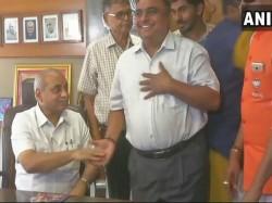 Miffed Gujarat Deputy Cm Nitin Patel Was Finally Pacified Bjp Chief Amit Shah