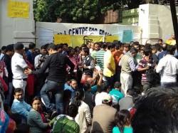 Guardian Forum Wants Principal Removal Gd Birla No Solution In Tripartite Meeting
