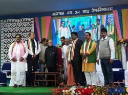 Pranab Mukharjee Praises Chief Minister Mamata Banerjee At Howrah