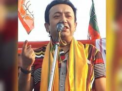 Bjp Leader Joy Banerjee Threatens Take Revenge The Panchayat Election Again