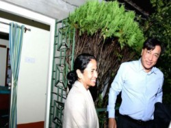 Industrialist Laxmi Mittal Visited The House Chief Minister Mamata Banerjee