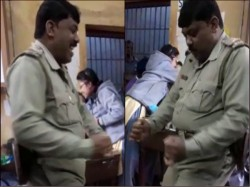 Police Officer Dancing Hirapur Police Station West Bengal Video Goes Viral