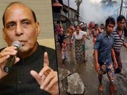 Rajnath Singh Calls Meet Cms On Rohingya S Kolkata On 7th December