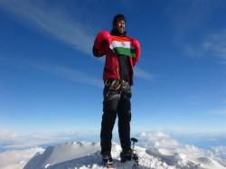 Satyarup Siddhanta Wins Mount Vinsons Masif Antarctica