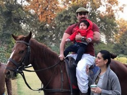 Taimur Ali Khan Have Royal Birthday Celebration