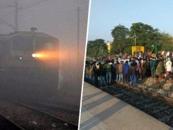 Due Fog Blockade Rail Service Is Disrupted West Bengal