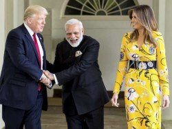 Donald Trump Called Pm Narendra Modi Expressed Satisfaction Ges