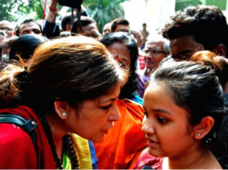 Bjp Mp Roopa Ganguly Withdraws The Protest From Gd Birla School
