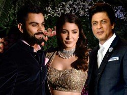 Anushka Takes Lime Light Dancing With Virat Srk Mumbai Recep