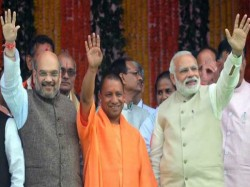 Bjp Showcase Up Civic Poll Win Gujarat