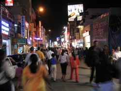 There Were More Policemen Than Revellers Bengaluru Street Welcome