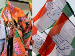 Four Mlas Including One Congress Mla Join Bjp At Meghalaya