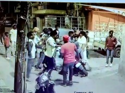 New Year S Eve Horror Caught On Cam Drunk Mob Assaults Duo In Bengaluru