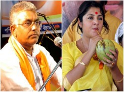 Dilip Ghosh Locket Chatterjee Get Central S Security After Mukul Roy