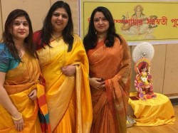 Bengalees Celebrates Sraswati Puja New Hampshire Canada Bangalore Vizag