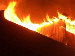 A Devastating Fire At Rubber Factory Tiljala
