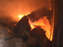 Seventeen Workers Are Died A Devastating Fire At Plastic Factory Delhi