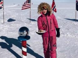 Australian Girl Jade Hameister 16 Made Sandwich At North Pole