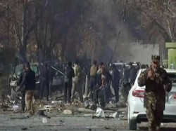 Suicide Bomber Used An Ambulance Kabul Kill People