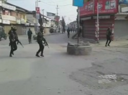 Four Policemen Feared Dead Ied Blast Sopore Baramulla District Kashmir