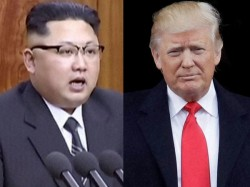 Donald Trump Boasts Bigger Nuclear Button Than Kim Jong Un S North Korea