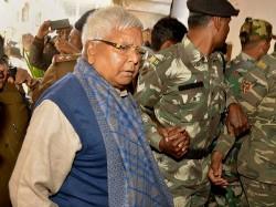 Rjd Chief Lalu Prasad Has Been Convicted Third Fodder Scam Case