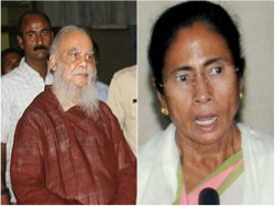 Mamata Banerjee Meets Intellectuals At Subhaprasanna S House Saltlake