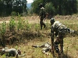 Two Maoist Killed Encounter With Security Forces Jharkhand S Hazaribag