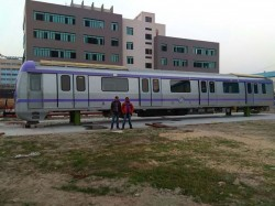 Ultra Modern East West Metro Rake Has Reached At Kolkata Trial Run