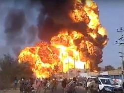 Video Oil Tanker Explosion Goes Viral On Social Media