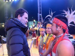 Bjp S Soot Boot Jibe At Rahul Gandhi Who Attended Meghalaya Music Event