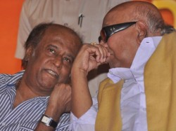Politician Rajinikanth Meet Dmk Patriarch Karunanidhi Tamil Nadu Today