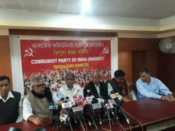 Left Front Releases List Candidates Tripura Assembly Elections