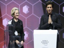 Indian Cuisine Yoga Open Davos Meet Shah Rukh Khan Awarded Wef