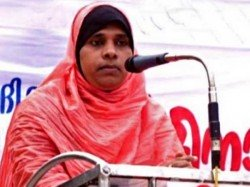 Muslim Woman From Kerala Who Faced Threats After Donning The Role An Imam